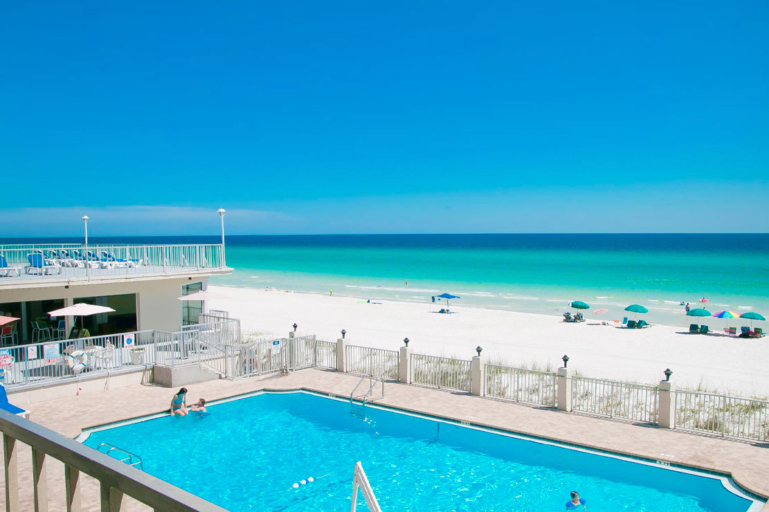 Beachside Resort Panama City Beach Day